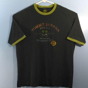 Tommy Bahama Relax Men's L Black Graphic T-Shirt